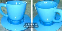 方圳玻璃钢茶杯花盆助力房产销售