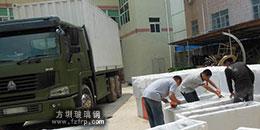 广东某部队玻璃钢花槽产品供应商